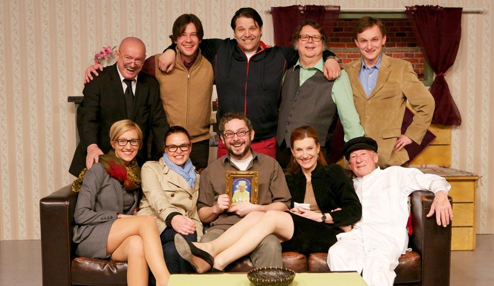 Team CASH und ewig rauschen die Gelder ORF Theater