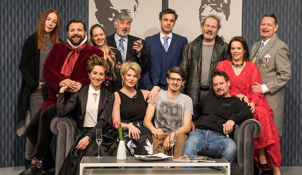 Team Last Tango for a Gigolo, ORF Theater