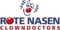 Logo Rote Nasen Clowndoctors quer
