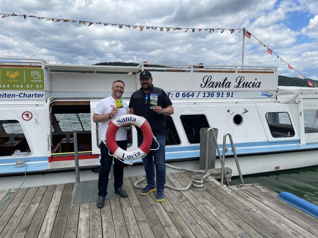 Velden Schiffstransfer Santa Lucia